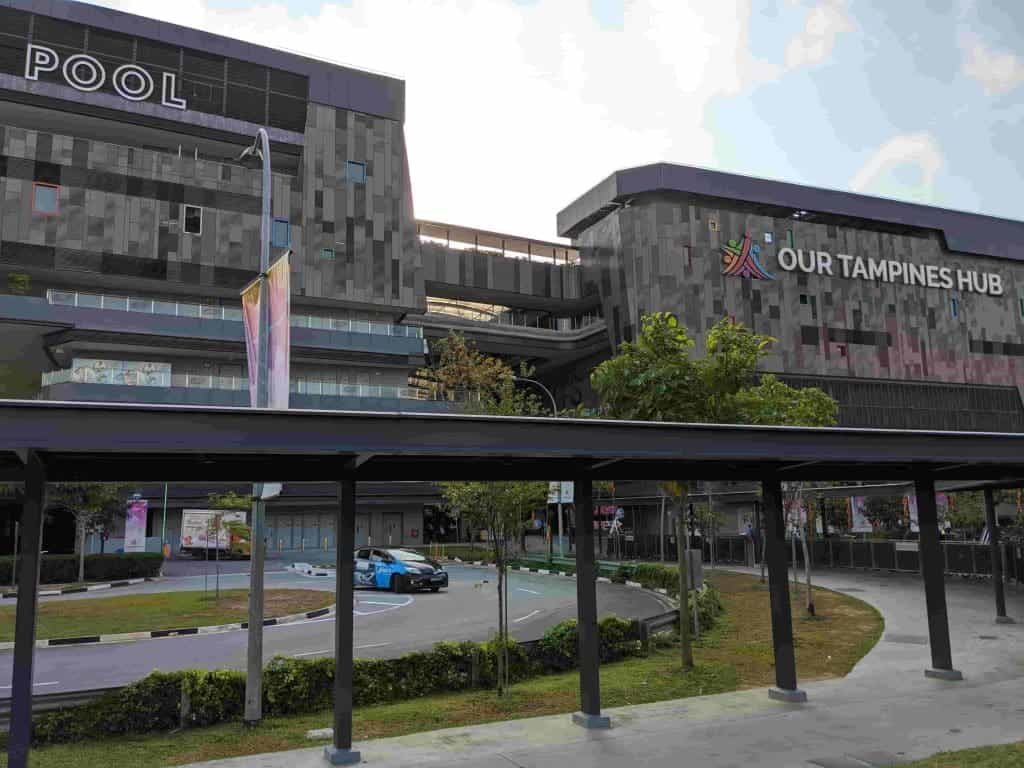 Our tampines hub building complex