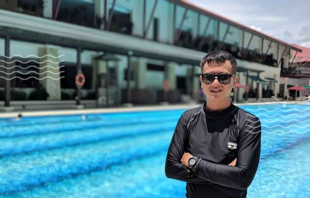 swimming coach steven heng